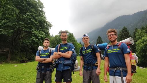 Il cammino della Alpi del Mediterraneo: quattro giovani da Chiusa di Pesio a Sanremo a piedi