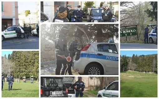 Sanremo: serie di controlli da stamattina a San Romolo e nelle zone da pic-nic, nessuna criticità (Foto)