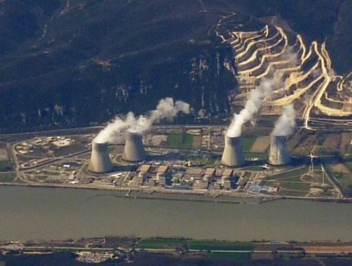 La centrale nucleare di Cruas-Meysse