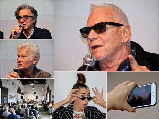 Le immagini delle conferenze stampa nella sede del Club Tenco