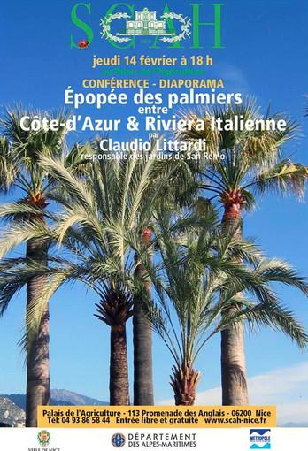Successo al Palais de l'agriculture di Nizza per la conferenza sulle palme curata da Claudio Littardi