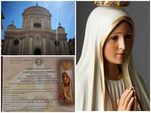 Imperia: da giovedì a domenica la statua internazionale della Madonna di Fatima Pellegrina nella basilica di San Giovanni