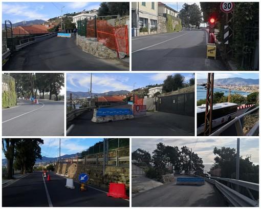 Sanremo: i sensori segnalano l'acuirsi del movimento franoso, chiusa da ieri via Duca D'Aosta (Foto)