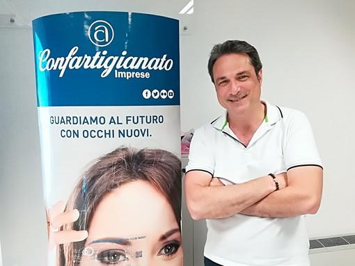Cesare Borghi è il nuovo presidente provinciale degli acconciatori della Confartigianato di Imperia