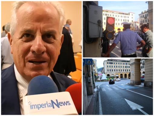 """Imperia: è già addio al semaforo di via Bonfante, Scajola """"Mi sembra un qualcosa che non funzioni"""""""
