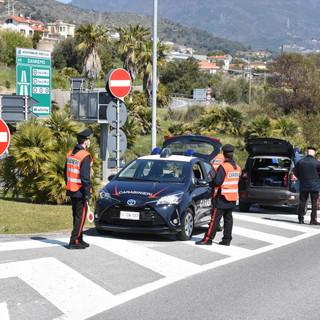 Sanremo: vacanzieri in arrivo per la 'Domenica delle Palme'? maxi servizio di controllo dei Carabinieri (Foto e Video)