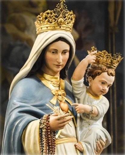 Sanremo: a Coldirodi la statua della Madonna Pellegrina per le celebrazioni di maggio