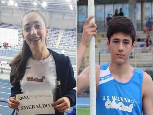 Atletica. Matteo Oliveri e Chiara Smeraldo protagonisti ai campionati italiani di Grosseto
