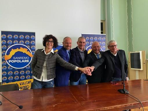 La conferenza stampa in Comune a Sanremo