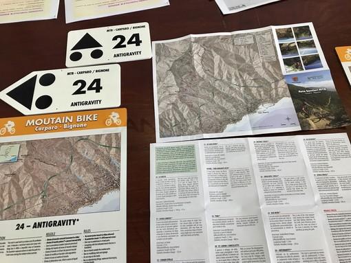 Turismo outdoor e mountain bike al centro dei progetti del Consorzio Forestale Monte Bignone finanziati con i 50 mila euro del Comune di Sanremo (Foto e Video)