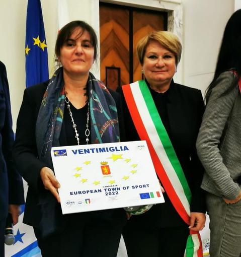 Accettata ieri a Roma la candidatura di Ventimiglia per la sfida alla 'European Community of Sport 2022'