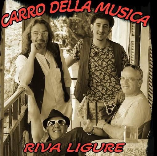 Riva Ligure: questa sera sul lungomare torna il 'Carro della Musica', in scena il gruppo 'Berben Band'