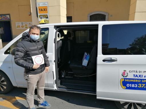 Cna Imperia: i taxisti in aiuto alla collettività con il servizio consegna a domicilio