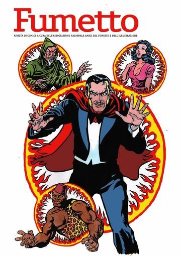 L'artista sanremese Larry Camarda firma la copertina di 'Fumetto' dedicata a Mandrake il Mago