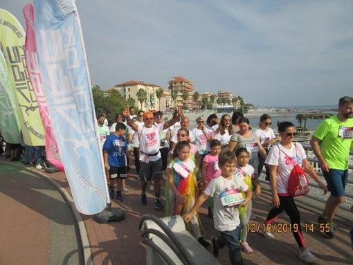 Ventimiglia: sabato scorso al Resentello in 115 per la corsa non competitiva 'Color Vibe' (Foto)