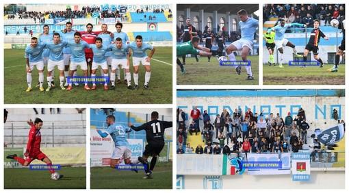 Calcio, Serie D. La Sanremese fermata al 'Comunale' dal Bra: riviviamo la sfida negli scatti di Fabio Pavan (FOTO)