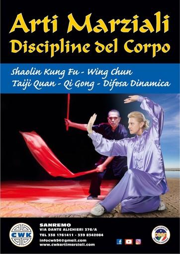 L'Associazione Sportiva CWK di Sanremo festeggia 25 anni di insegnamento di Arti Marziali Cinesi e Discipline del corpo e presenta i nuovi corsi