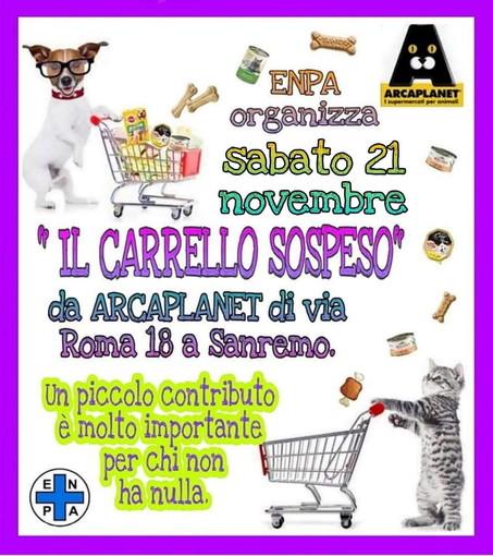 Sanremo: domani chiunque può aiutare i cani e gatti curati dall'Enpa con una donazione da 'Arcaplanet'