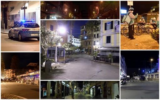 Prima notte di coprifuoco nella nostra provincia: qualche controllo ma città deserte e rispettose dell'ordinanza (Foto)
