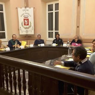 Diano Castello: ieri sera la prima seduta del nuovo Consiglio comunale, presentata la Giunta (Foto)