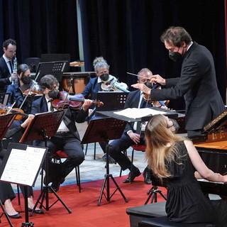 Sanremo: successo per il secondo concerto dell'Orchestra Sinfonica dopo la riapertura dei teatri (foto)