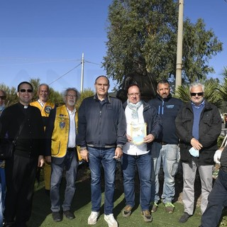Sanremo: cerimonia per il 153° dalla nascita di Padre Semeria, la Cna sistema l'aiuola di Coldirodi (Foto)