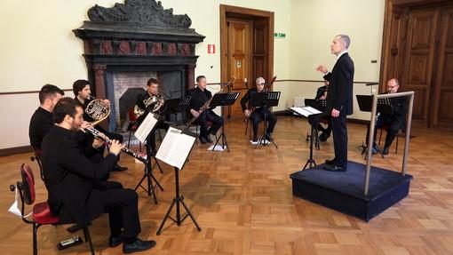 I fiati dell'Orchestra di Sanremo in concerto domani in Streaming su Youtube