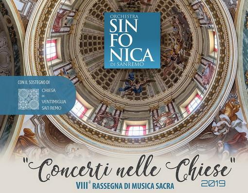 Sanremo: con l'Orchestra Sinfonica serie di concerti nelle chiese per la 'Rassegna di Musica Sacra'