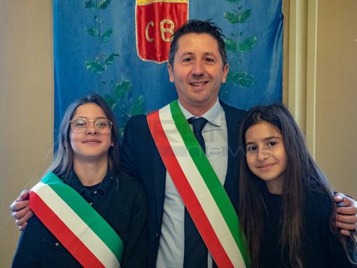 Da sinistra, Ancilla Bianchi, Matteo Orengo e Aurora Oliva