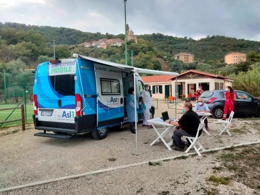 Campagna vaccini oggi a Diano Arentino, Castello e San Pietro: somministrate 39 prime dosi (Foto)