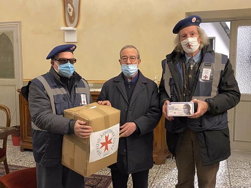 Ventimiglia: il Servizio assistenza Civile del V.E.O.S.P.S.S. dona coperte e mascherine ai senzatetto