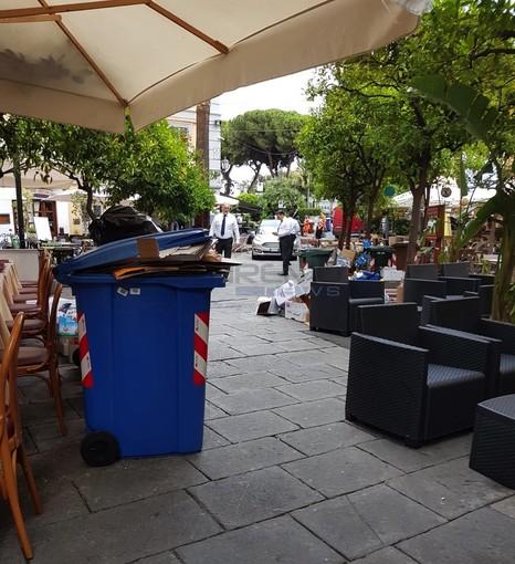 """Sanremo: carro funebre non può passare per l'allargamento del dehors, Menozzi """"Scattate già le prime multe, proseguiremo"""""""