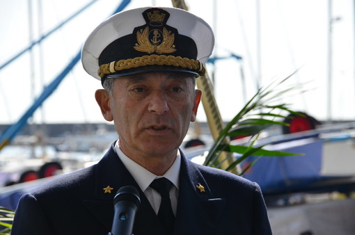 L'Ammiraglio Giovanni Pettorino va in pensione: nell'89-90 fu Comandante della Guardia Costiera a Sanremo