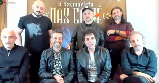 La conferenza stampa di Max Gazzè con Daniele Silvestri  e la