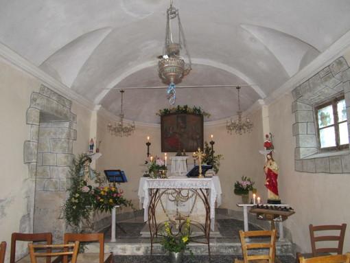 Molini di Triora: ieri a Carpenosa la festa della Madonna della Salute, celebrata la Messa (Foto)