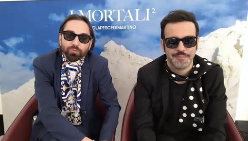 Colapesce e Dimartino, vincitori del premio della sala stampa 'Lucio Dalla'