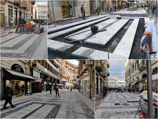 Il cantiere di via Matteotti