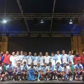 Calcio, Serie D. La Sanremese 2021/22 si presenta alla città! Tutte le immagini della serata di gala biancoazzurra
