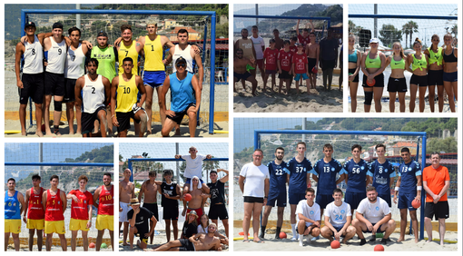 """Beach Handball. Grande successo per il Torneo Internazionale 'Trofeo Cala del Forte' a Ventimiglia: """"Siamo soddisfatti, questa disciplina sta prendendo sempre più piede"""" (FOTO)"""
