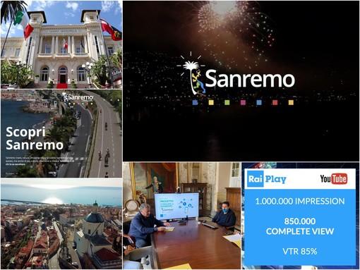 Il brand 'Sanremo Live&Love' vola sul web: oltre 3 milioni di visualizzazioni in Italia e in Europa (Foto e Video)