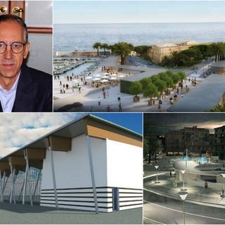 Il sindaco Biancheri e le tre grandi opere pronte a partire: il palazzetto dello sport, il parcheggio di piazza Eroi e il restyling di porto vecchio