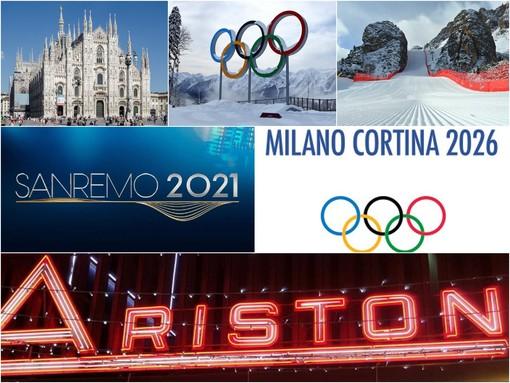Il logo delle Olimpiadi Milano-Cortina 2026 sarà scelto a Sanremo in anteprima mondiale