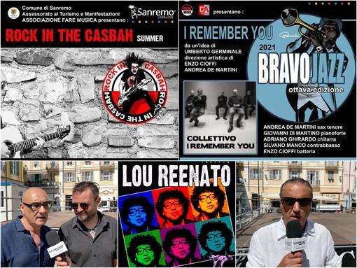 Sanremo: cambia la location ma non lo spirito, conto alla rovescia per Rock in the Casbah e Bravo Jazz (Video)