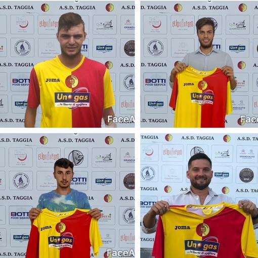 Calciomercato. Taggia, quattro conferme importanti per i giallorossi: restano Pronesti, Gallo, Celotto e Cutellè