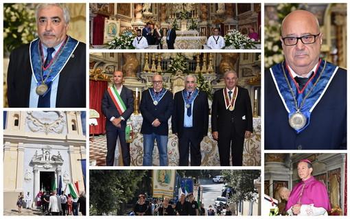 Sanremo: al Santuario della Madonna della Costa la cerimonia per l'Assunta con i nuovi 'Consoli del Mare' (Foto)
