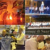 Calcio, Serie D. La Sanremese 2021/22 si presenta alla città. Le immagini della serata di gala biancoazzurra