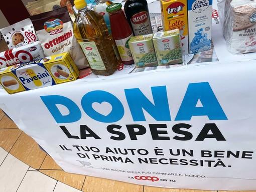 Colletta alimentare con COOP Liguria: 2,4 tonnellate raccolte in provincia di Imperia