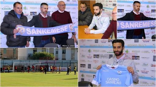 Calcio, Serie D. Sanremese, la presentazione di mister Massimo Costantino (FOTO e VIDEO)