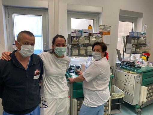 Coronavirus: un gruppo di cittadini imperiesi ha donato macchinari e dispositivi di protezione individuale per l'ospedale