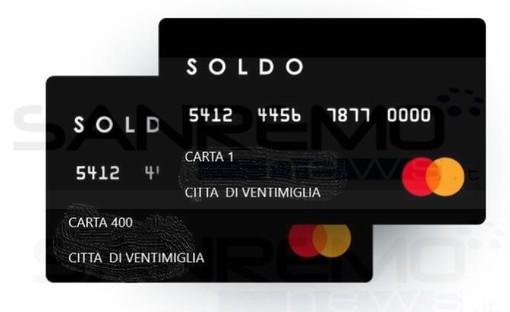 A Ventimiglia arrivano le carte di credito 'Soldo' con 300 euro. Ad Ospedaletti la distribuzione dei buoni spesa